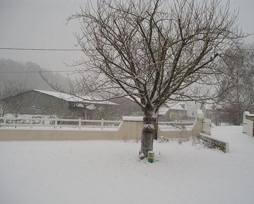 Picardie sous la neige