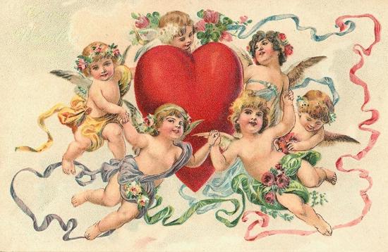 carte ancienne de St Valentin