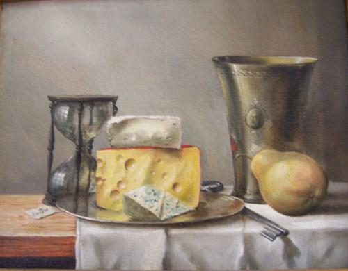 La nature morte avec les fromages - Tomasz Steifer
