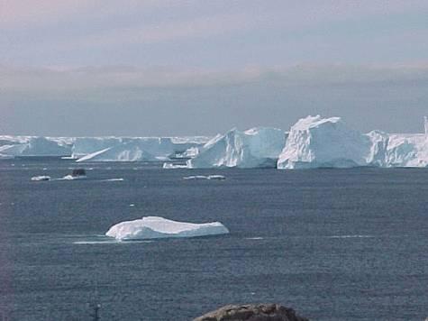 un paysage de l'antarctique : crédit Taaf