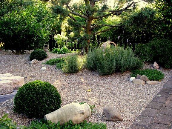 Jardin de graviers for Solde plante jardin