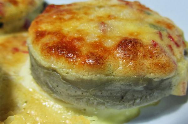 Fond d'artichaut gratiné aux 2 fromages