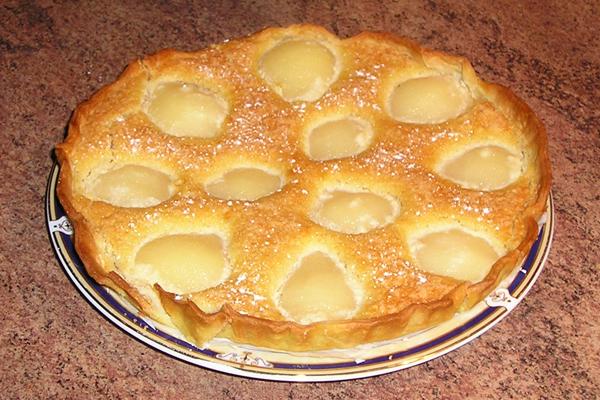 Gâteau poire amandine