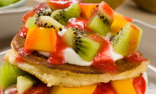 Blinis aux fruits