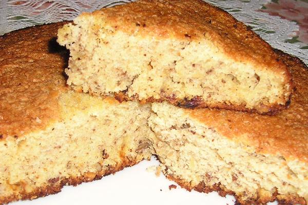 gâteau aux noix et rhum