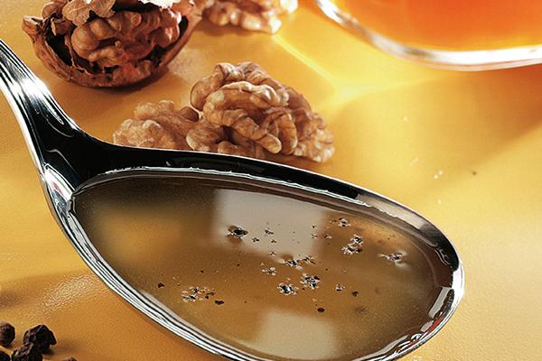 vinaigrette huile de noix et miel