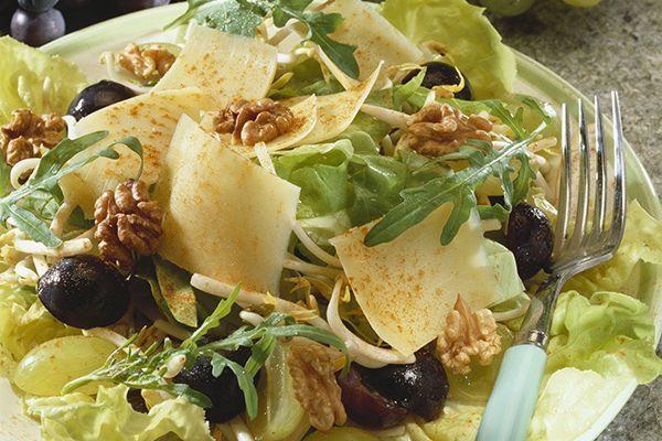 """salade et fromage """"tout en un"""""""
