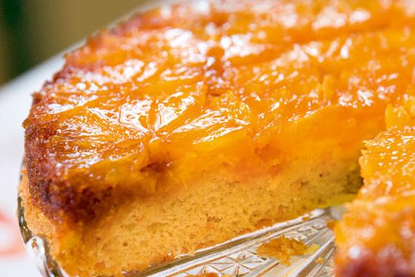 Gâteau aux oranges miroir