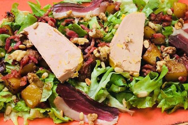 Salade périgourdine traditionnelle
