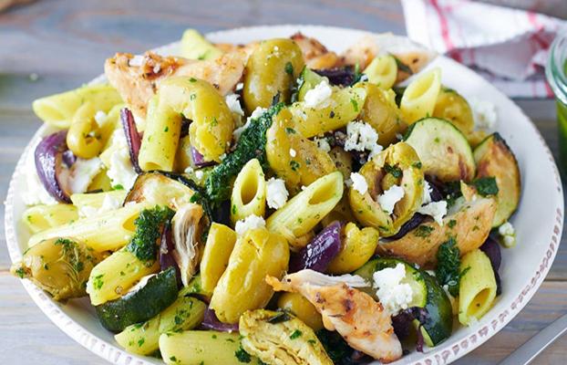 Salade italienne au poulet