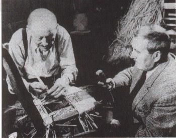 un rempailleur de chaises, Mr alfred Grésillon (1876 - 1971)