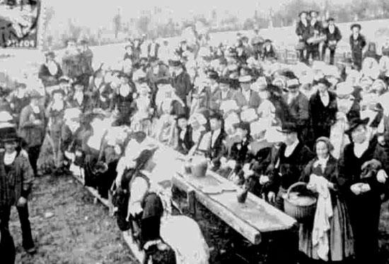mariage breton vers 1900