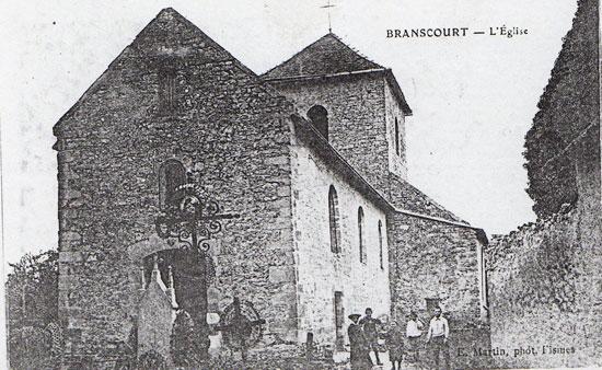 L'église vers 1914 - 1918