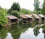 Lavoirs de Brou sur rivière Ozanne